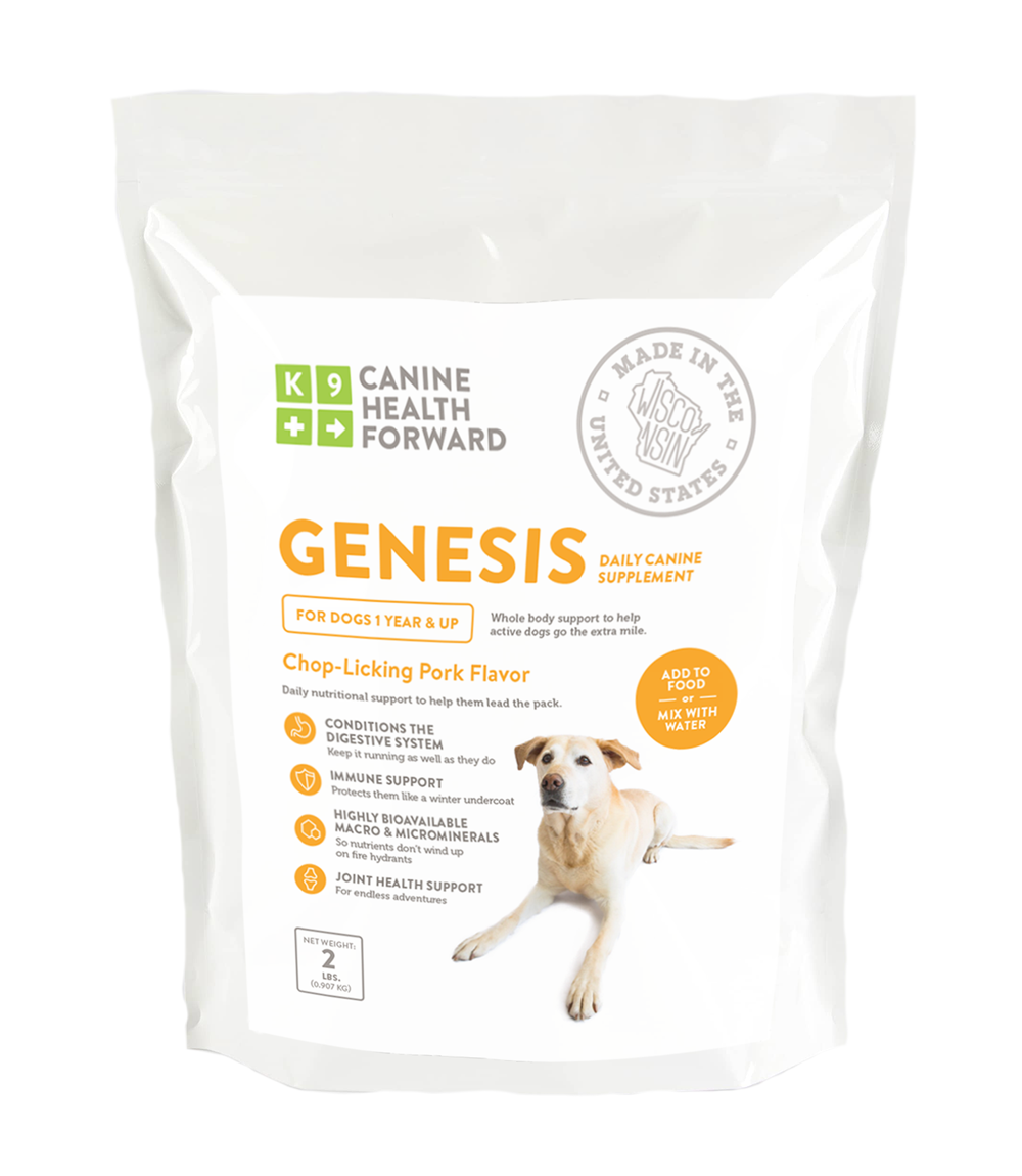 Genesis Daily Canine Supplement 10 178 Racing